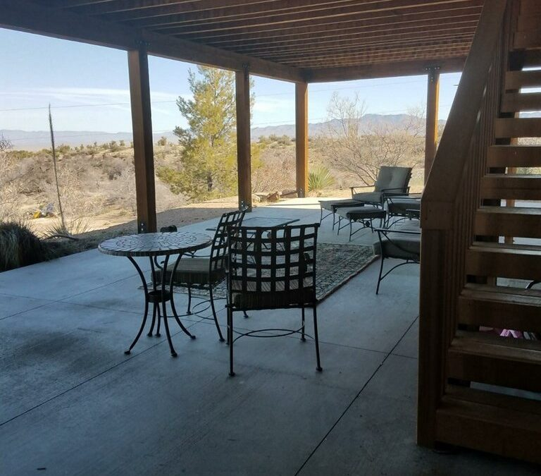 Lower Porch View