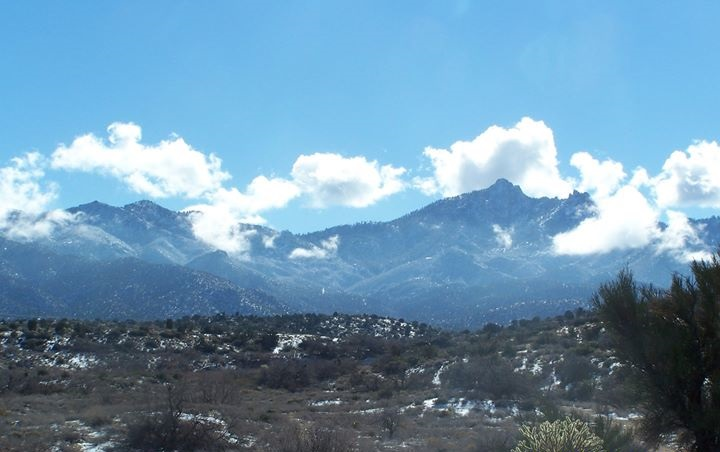 Hualapai Mountains in Winter